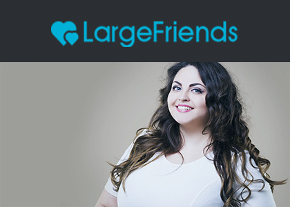 LargeFriends.com - the best dating site for plus-sized singles!